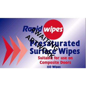 Colourfast Surface Wipes for Composite Doors - 150 Wipe Tub