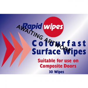Colourfast Surface Wipes for Composite Doors - Resealable Pouch