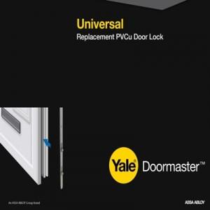 Doormaster Universal Replacement Lock for PVCu Doors