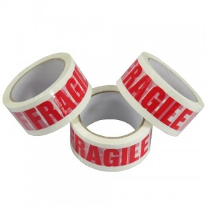 FRAGILE Packing Tape 48mm x 66m Pack Of 6