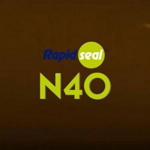 N40 Ral 8017 Mahogany Silicone Sealant - Box of 25