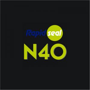 N40 Ral 9011 Black Silicone Sealant - Box of 25