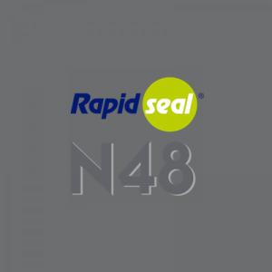 N48 Ral Lead Grey Silicone Sealant - Box of 25