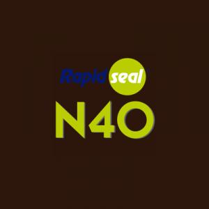 N40 Ral 8019 Bronze Silicone Sealant - Box of 25