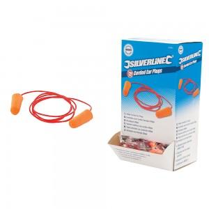 Corded Ear Plugs SNR 34dB 200 Pairs - 427674