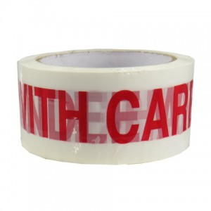 HANDLE WITH CARE Tape 48mm x 66m Pack of 6