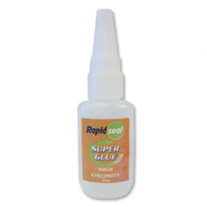 Rapidseal High/Thick Viscosity 20gram Superglue - 25 Per Box