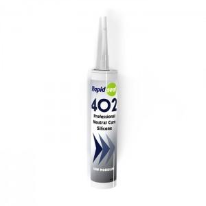 N402 Ral 9016 Bright PVC White Silicone Sealant - Box of 25