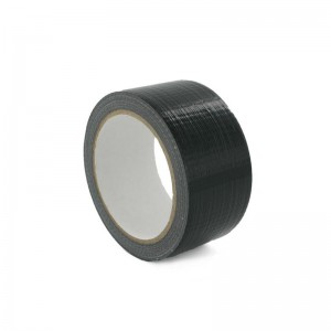 Black Polycloth Ducting Tape