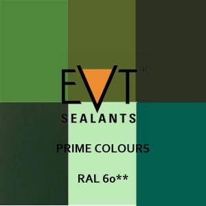 EVT Prime Colours Greens