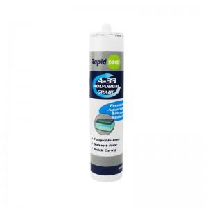 A33 Aquarium Marine Silicone Sealant Clear