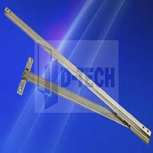 Hold Open Slimline Door Restrictor Passivated Steel